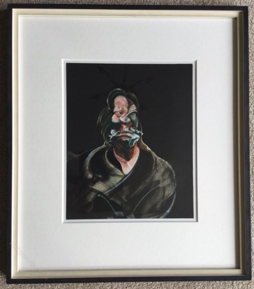 francis bacon lithograph of isabel rawsthorne