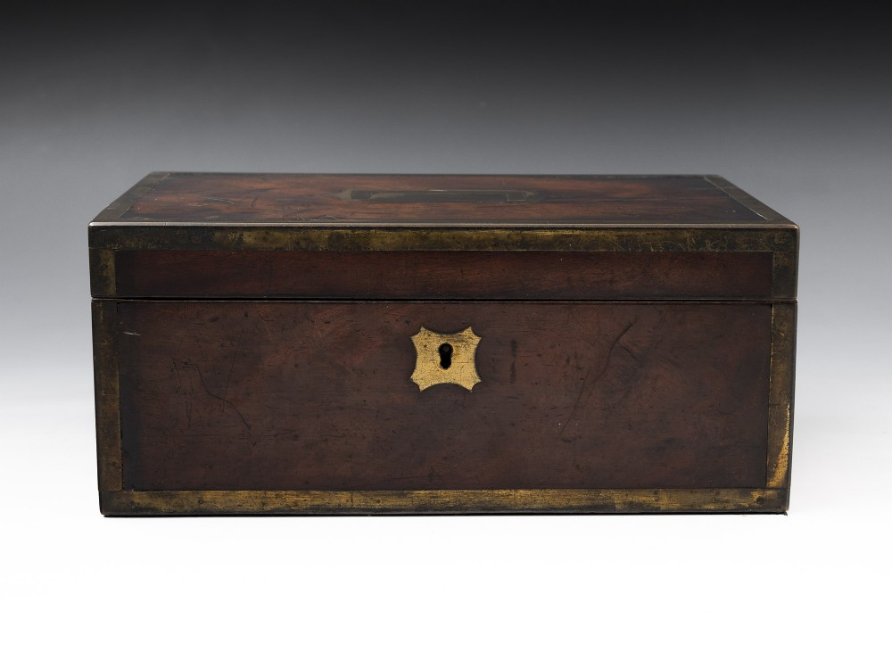 campaign jewellery box