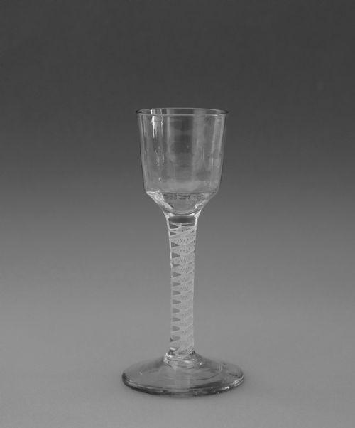 hand engraved irish shot glass waterford