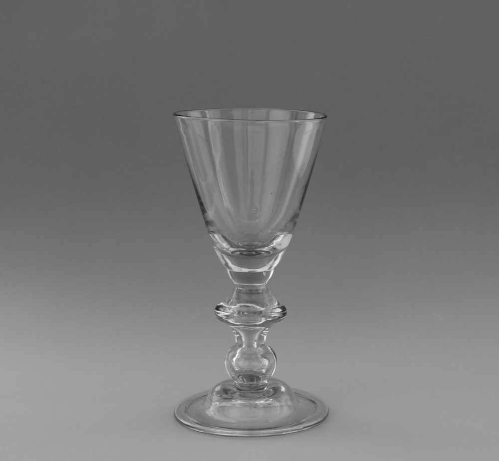 heavy baluster wine glass c171020