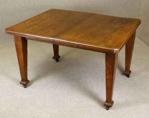 arts and crafts dining room table antique oak arts amp crafts extending dining table seats 8 8646