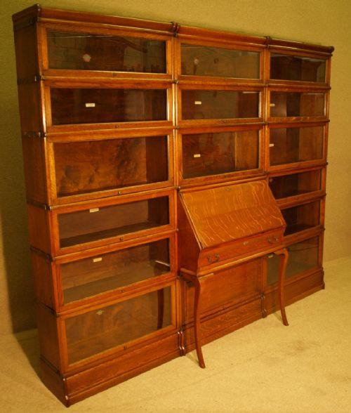 rare globe wernicke library bureau bookcase 179031. Black Bedroom Furniture Sets. Home Design Ideas