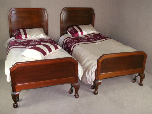 edwardian mahogany bedroom furniture. pair of edwardian mahogany single beds bedroom furniture