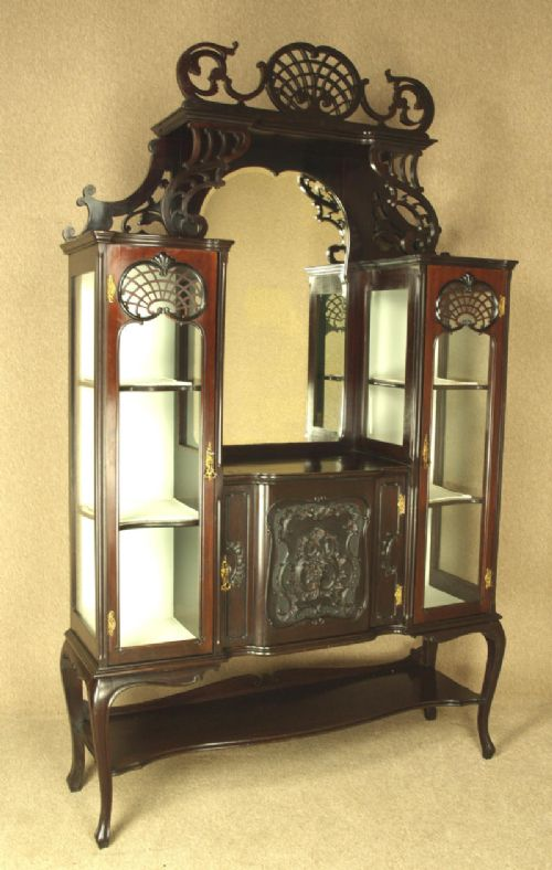 Ornate Late Victorian China / Display Cabinet | 278884 ...