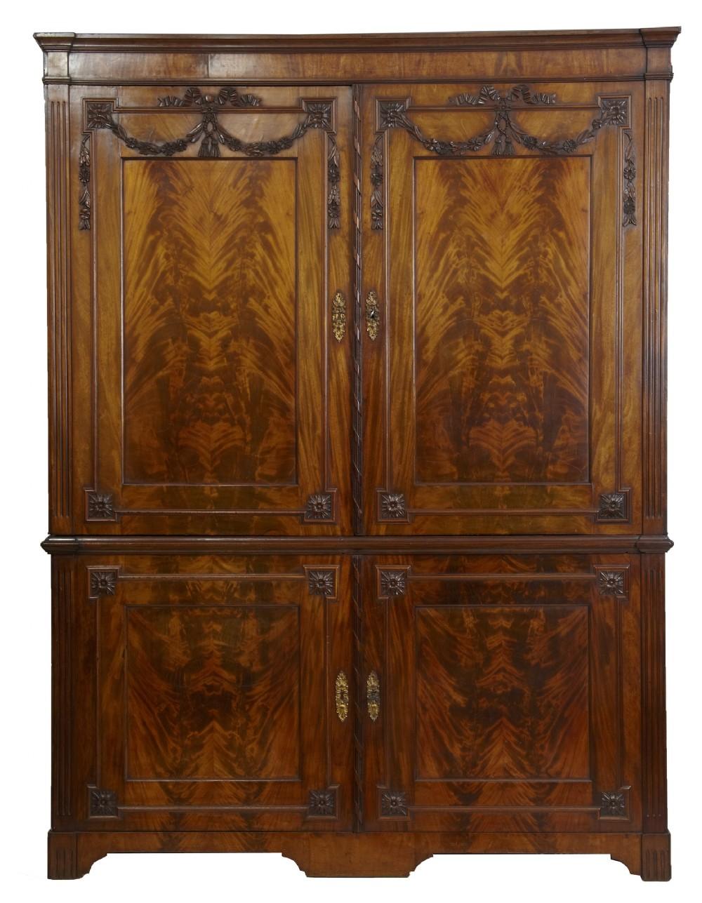 early 19th century dutch cupboard