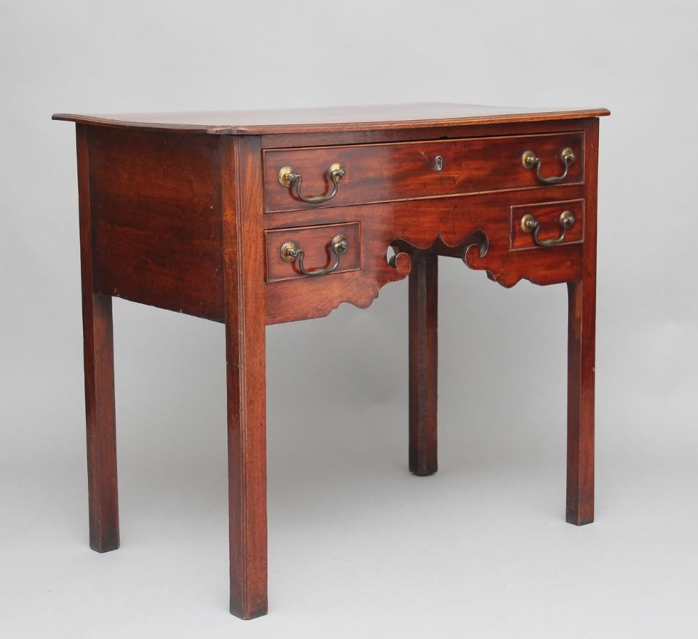 18th century mahogany lowboy