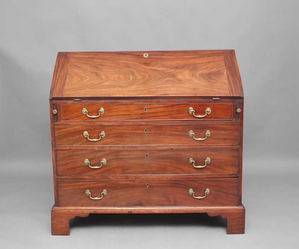 18th century mahogany bureau