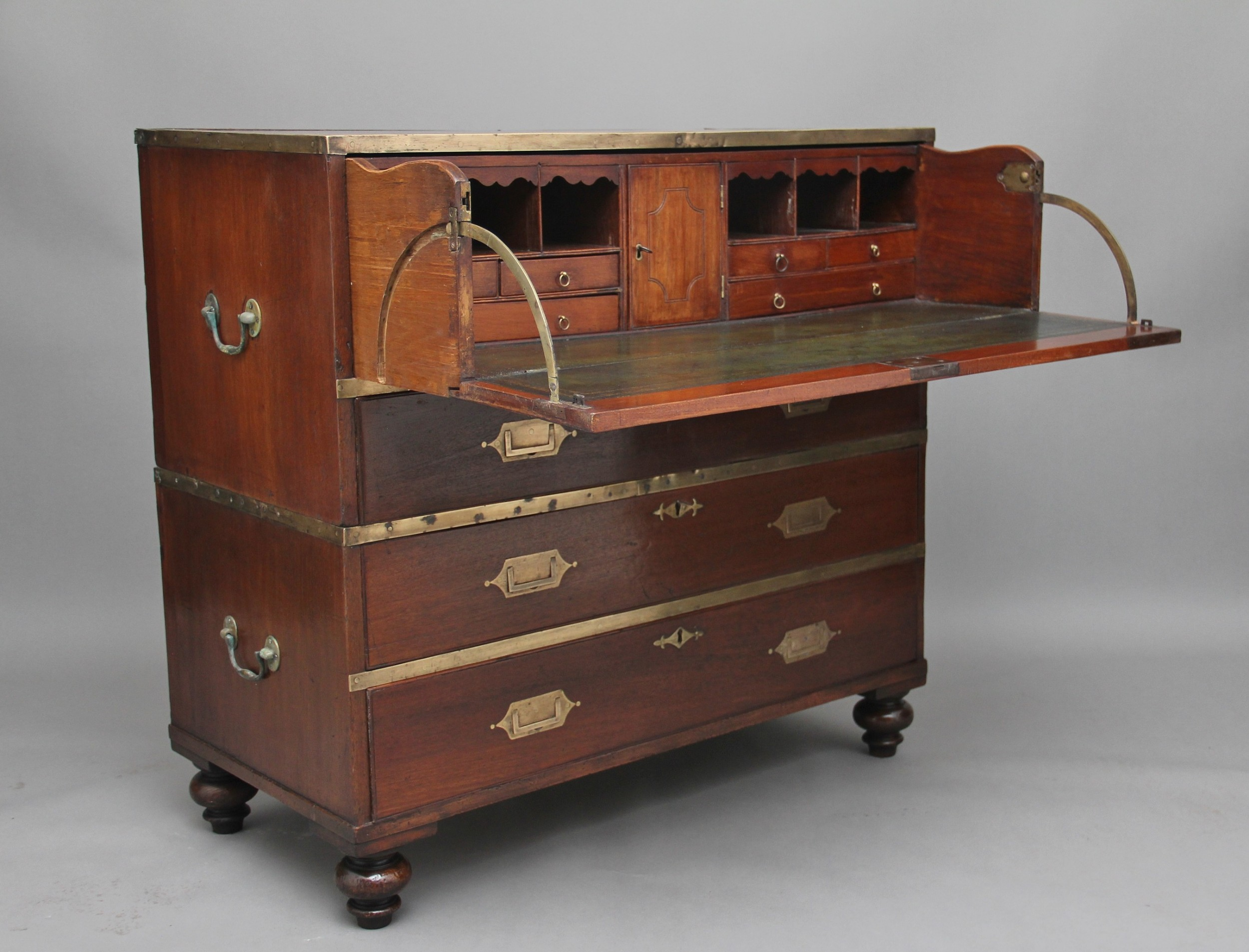 19th century angloindian military chest