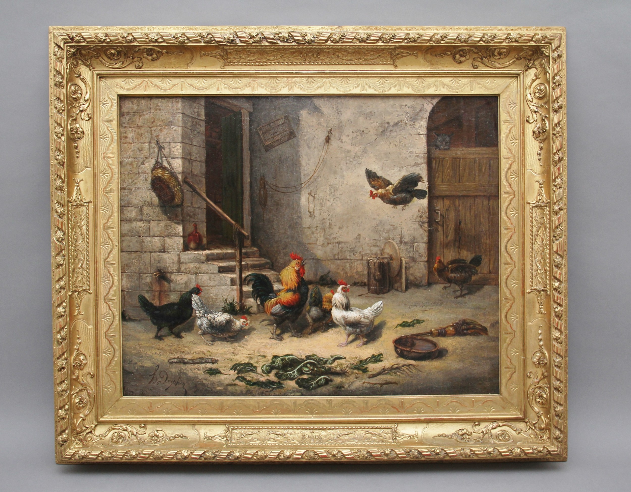 19th century fine quality oil painting