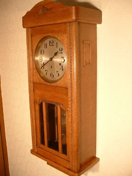 Arts & Crafts Style, Westminster Chime Wallclock | 117908 ...