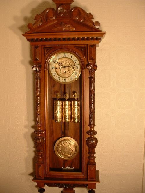 Grand Soneree Wallclock Quot Blind Mans Clock Quot 161590