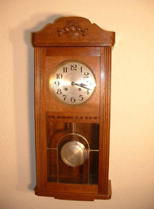 Arts & Crafts Striking Wall Clock | 320936 | Sellingantiques.co.uk