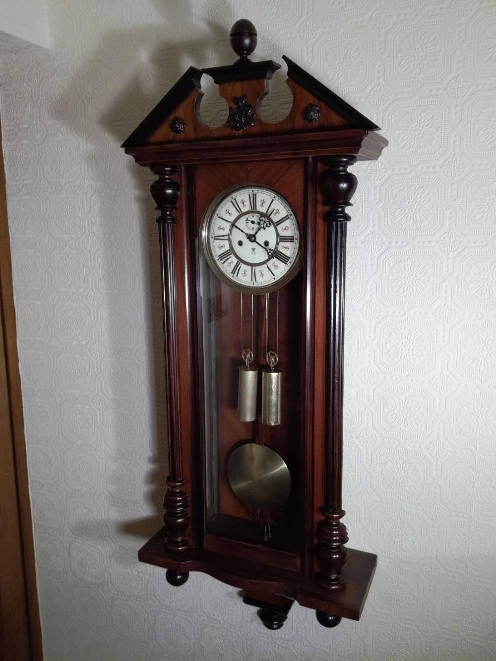 Gustav Becker Vienna Regulator Wall Clock 462366