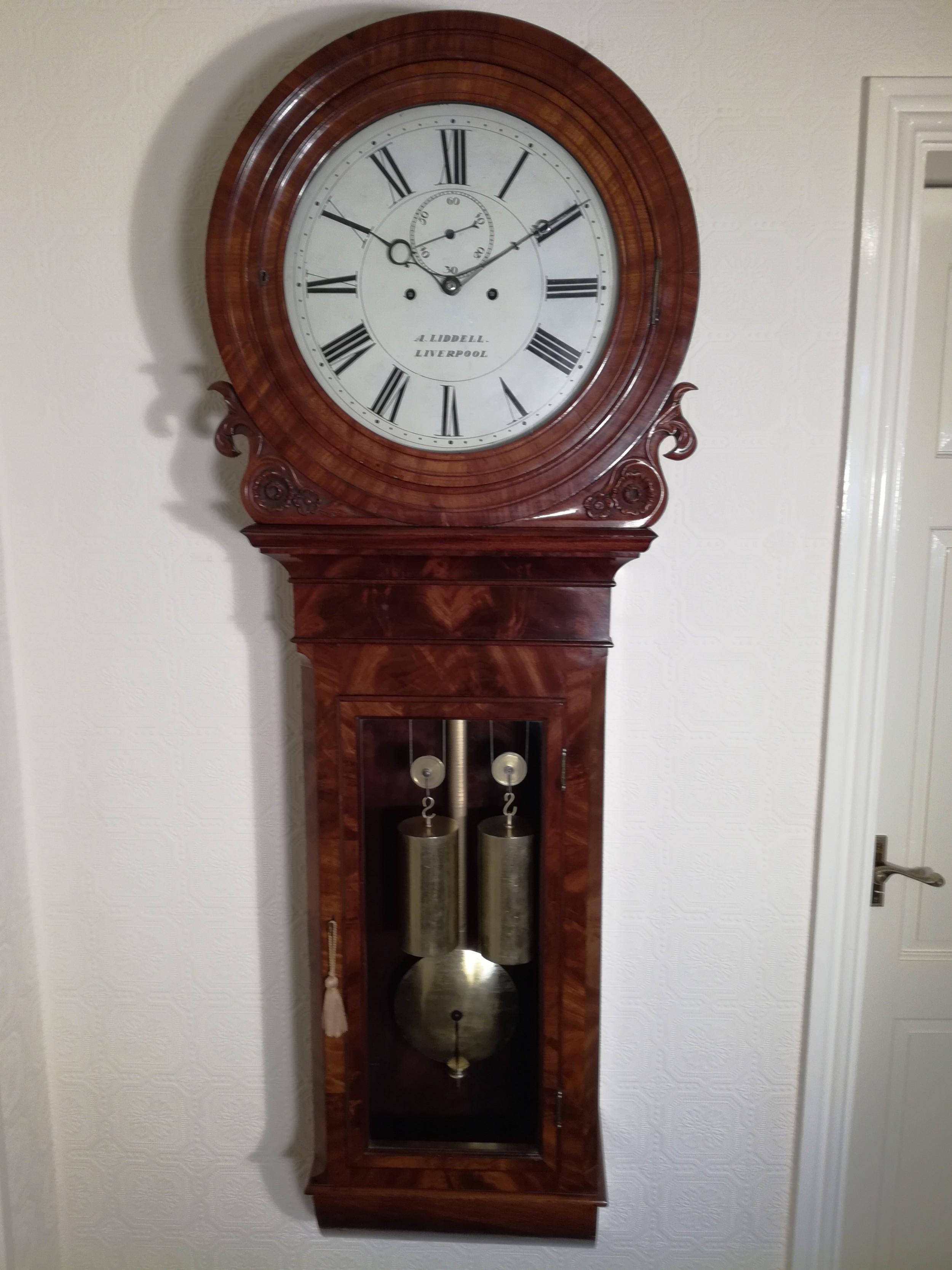 magnificant tavernstyle regulator wall clock
