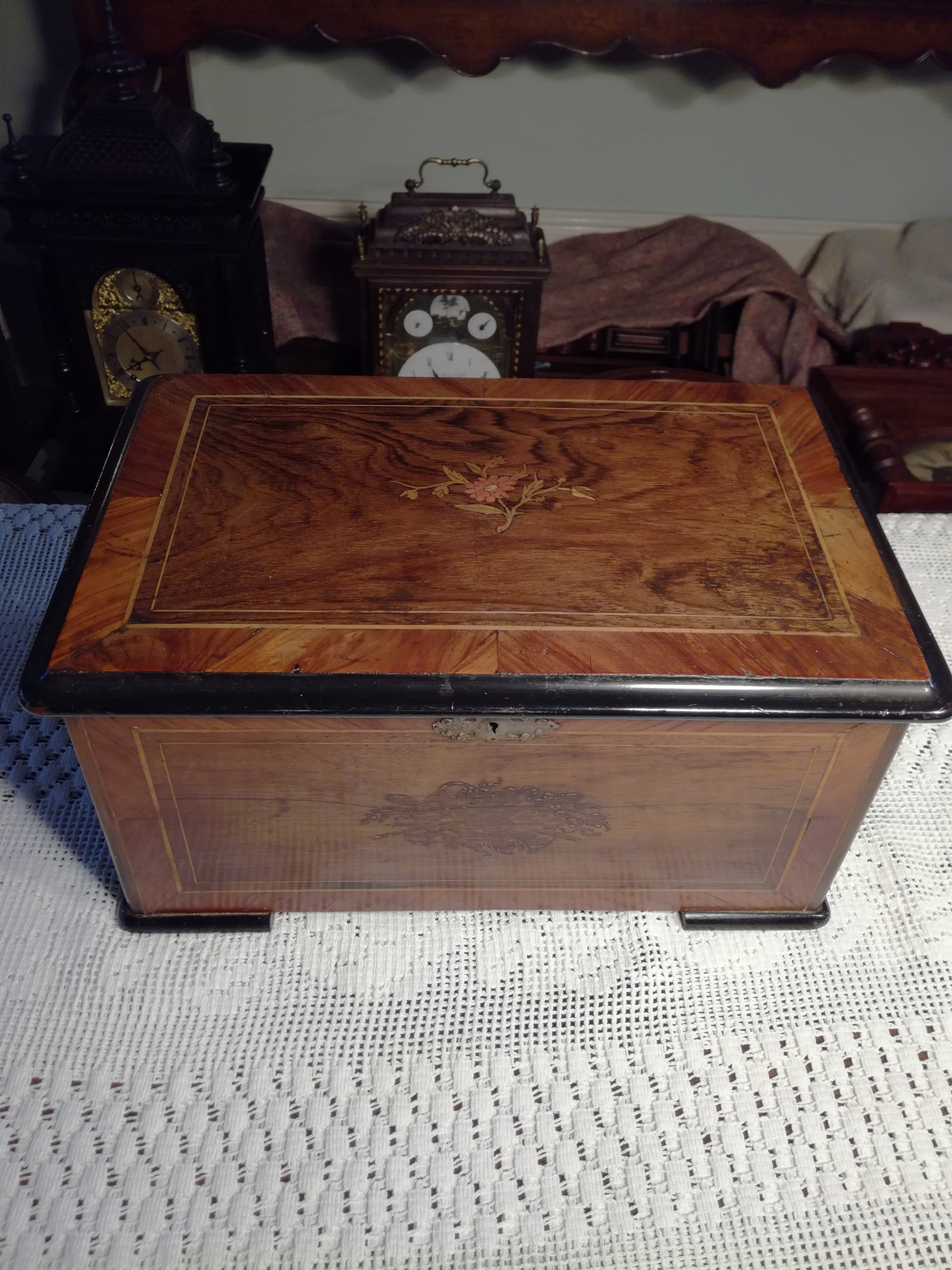 swiss orchestral music box fully overhauled