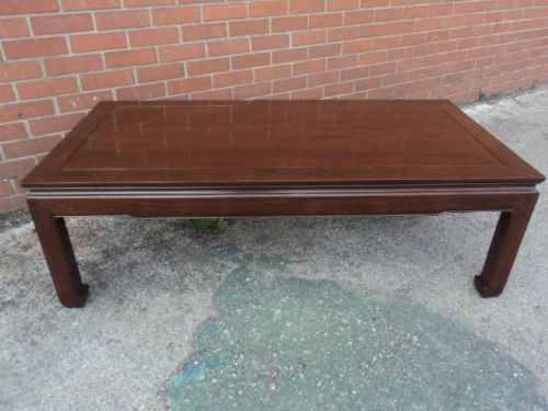 Antique Oriental Chinese Rosewood Low Coffee Table 232510