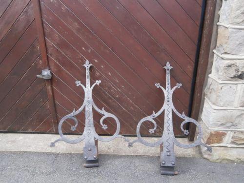 pair antique ornate iron hinges - Pair Antique Ornate Iron Hinges 274349  Sellingantiques.co. Antique Door Hinges For Sale ... - Antique Door Hinges For Sale Antique Furniture