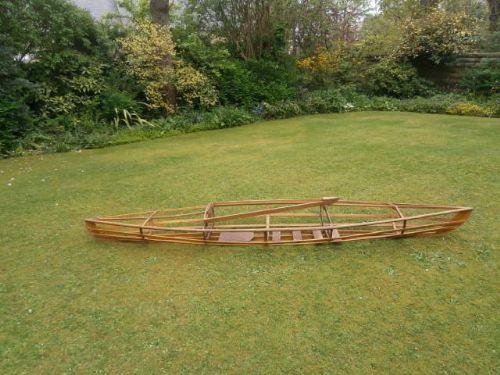 Antique Wooden Canoe Frame Boat 277111 Sellingantiquescouk