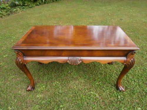 Quality Antique Walnut Coffee Table