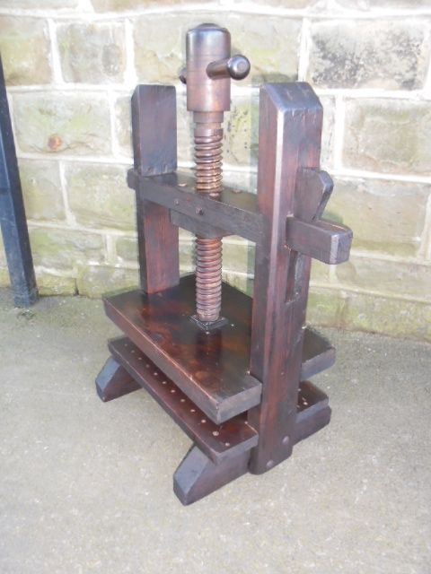 Antique Book Press Flower Press | 319311 | Sellingantiques co uk
