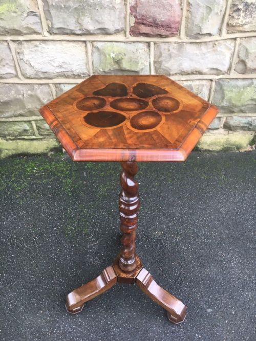 antique walnut wine table