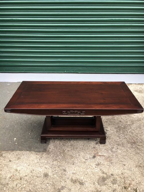 antique oriental chinese opium table