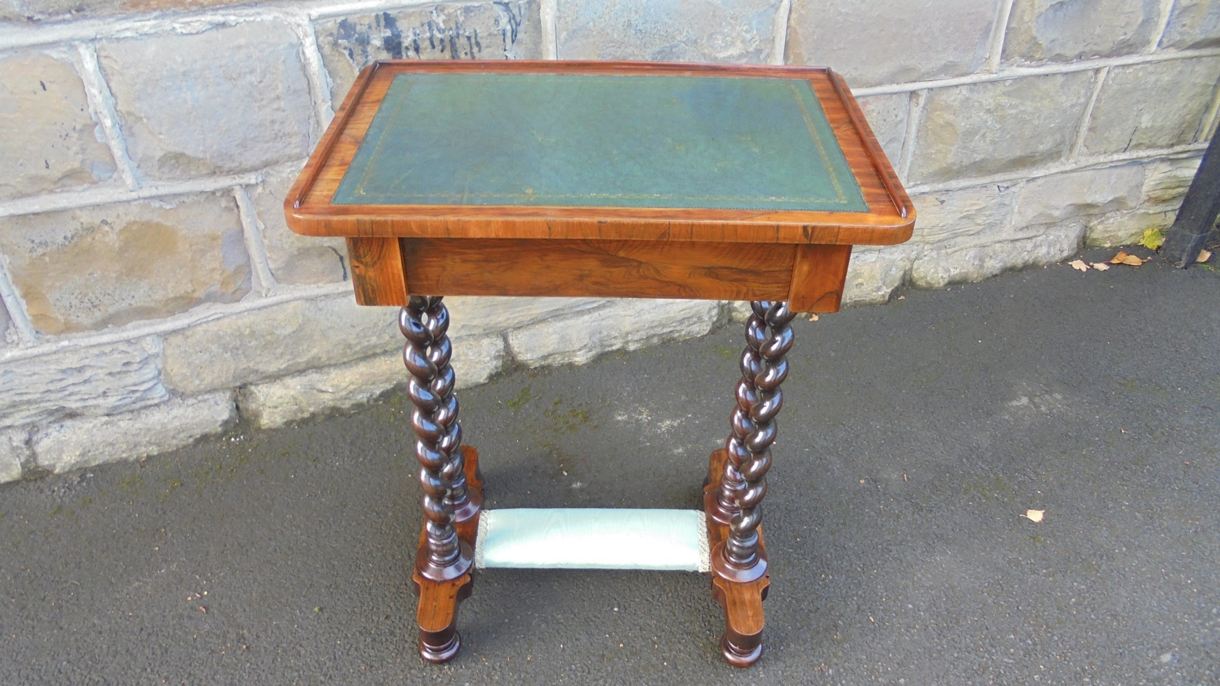 antique rosewood ladies writing table