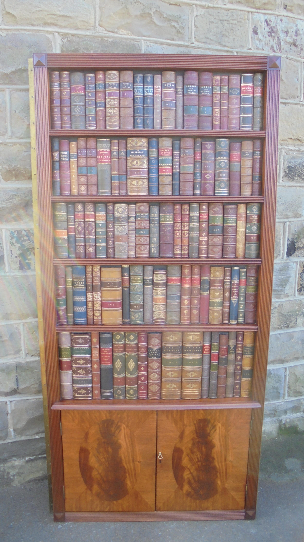 Mahogany Library Faux Bookcase Door 615232