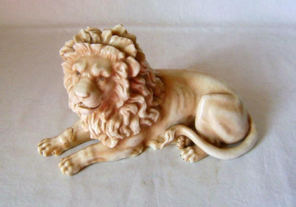 porcelain lion