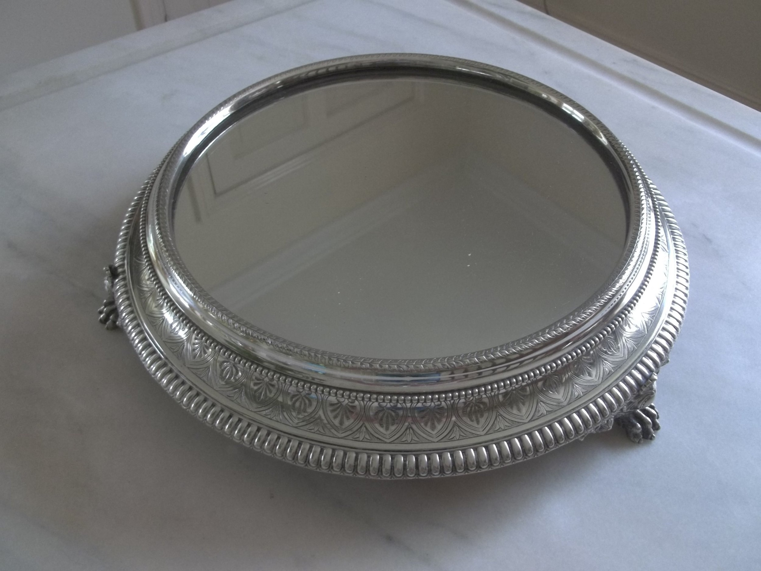 Victorian Silver Plated Cake Stand