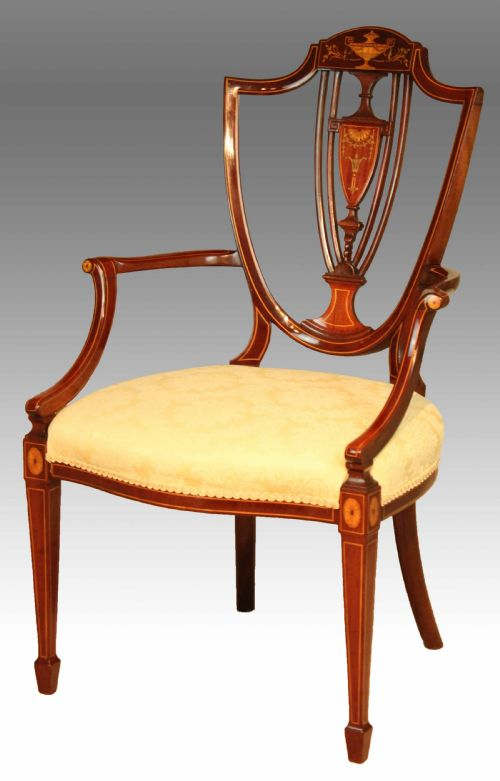 Antique Shield Back Chairs The Uk S Largest Antiques Website