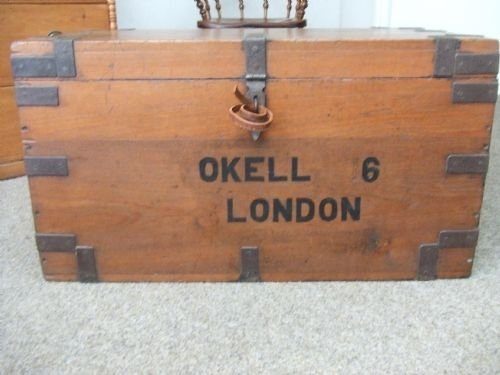 antique trunk - photo angle #3