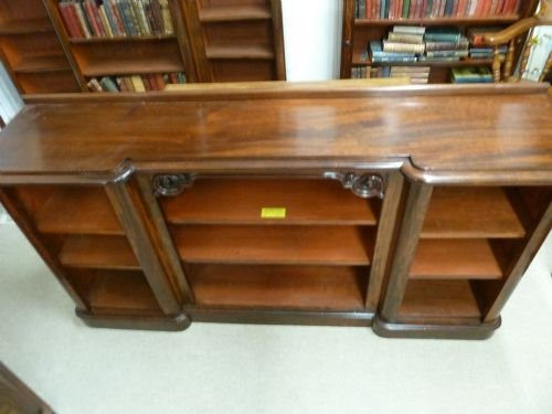 breakfront bookcase - photo angle #3