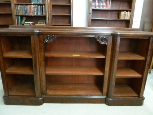 breakfront bookcase - photo angle #5