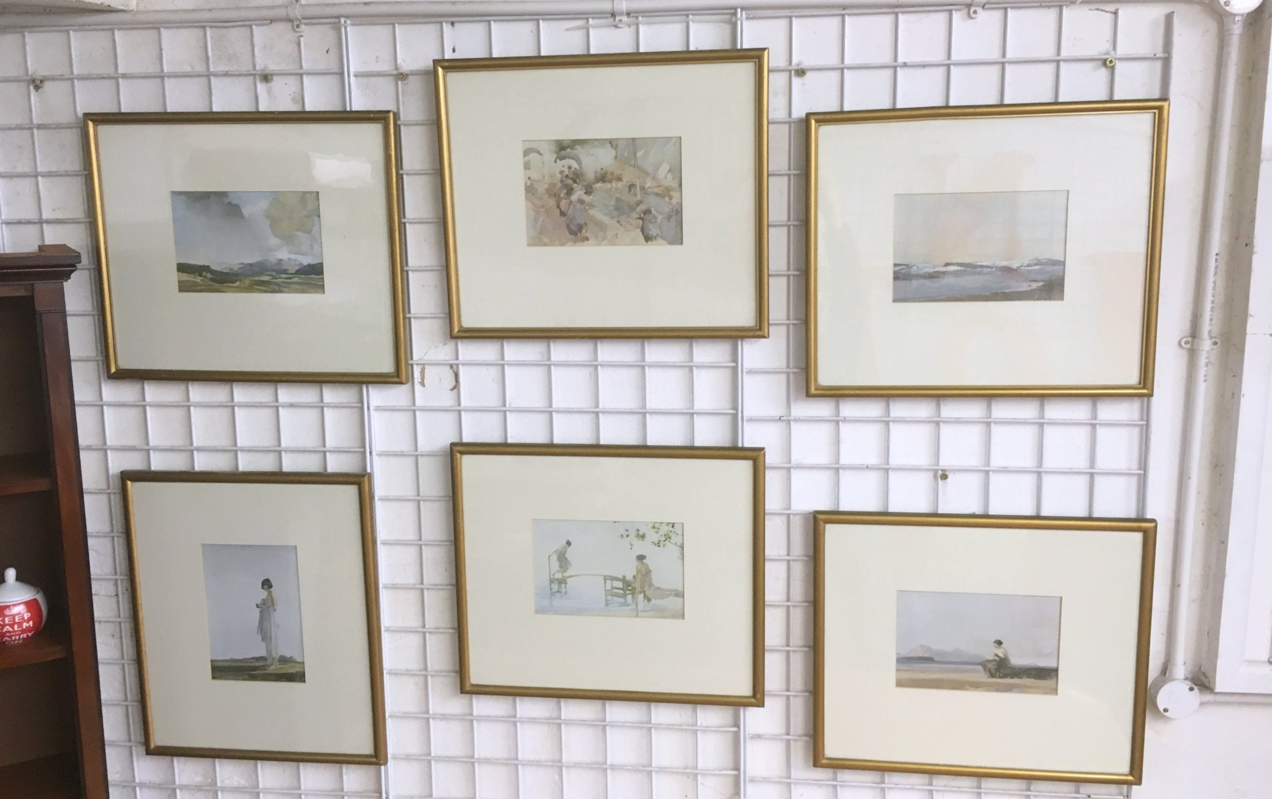 6 russell flint prints