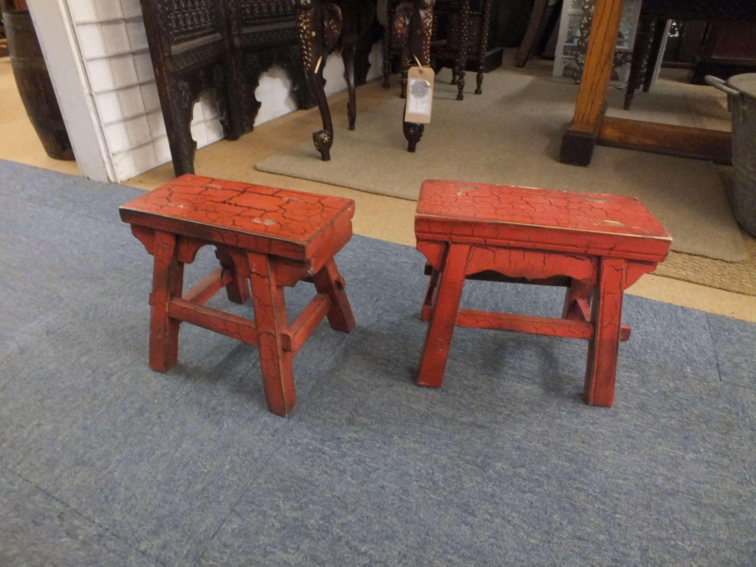 chinese pair of stools