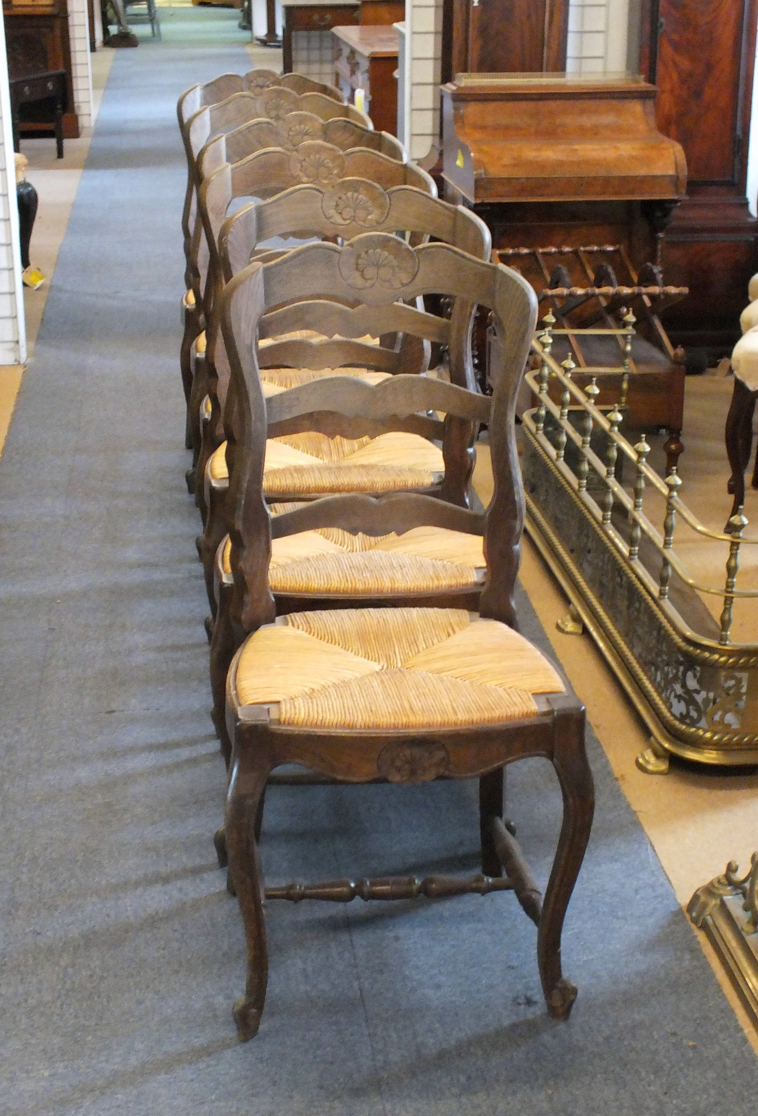 6 french chair
