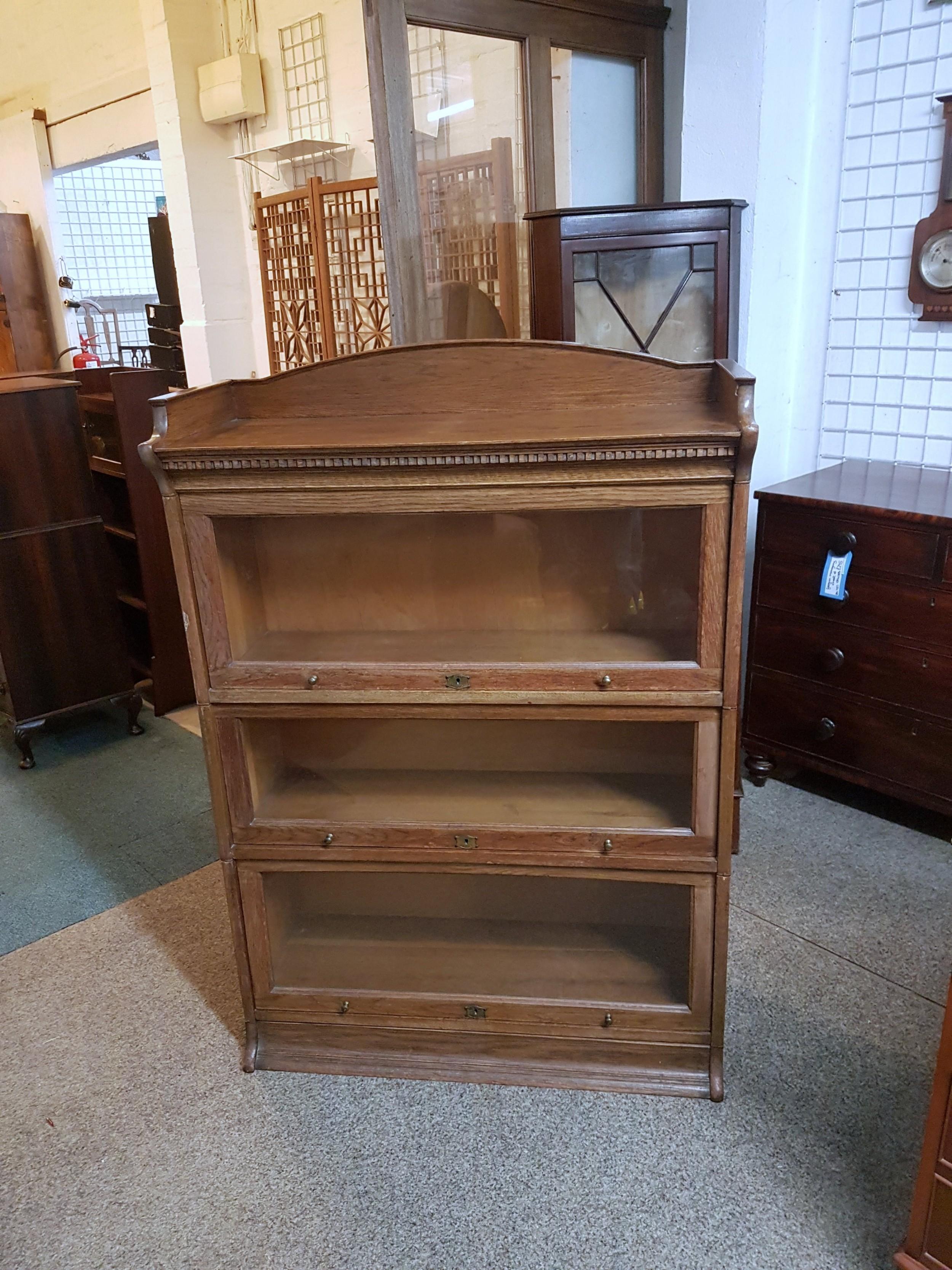 oak lebus bookcase