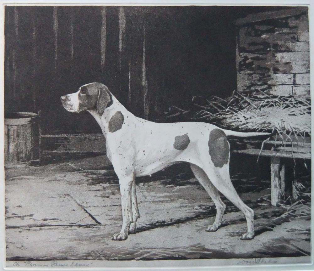 reuben ward binks pointer etching