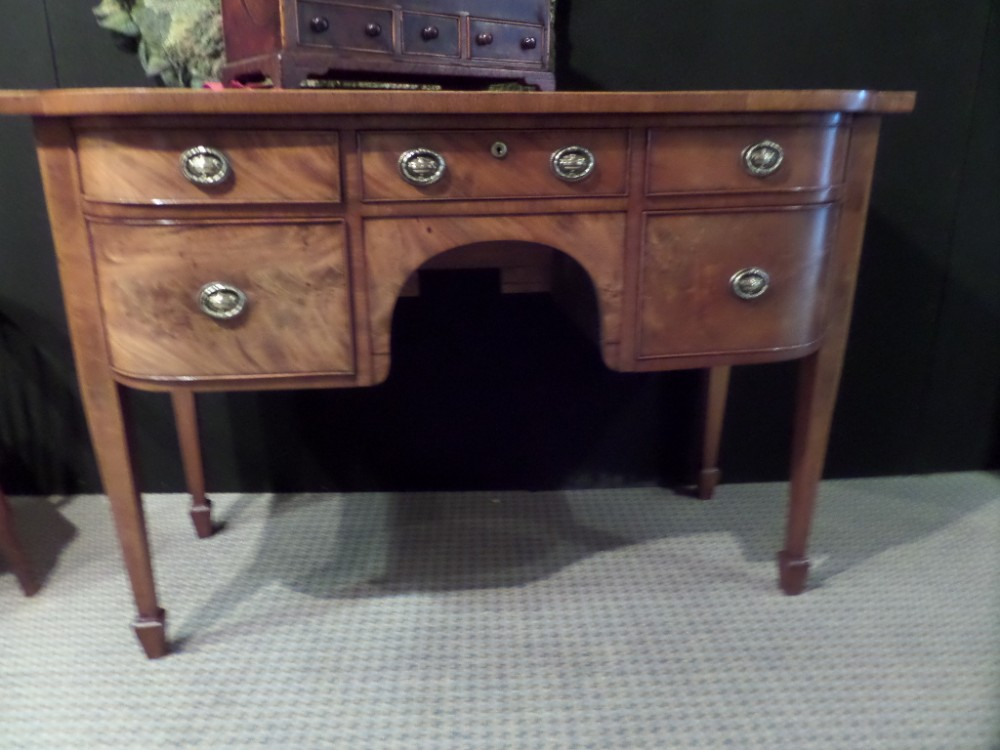 georgian mahogany small sideboard 147cms57l