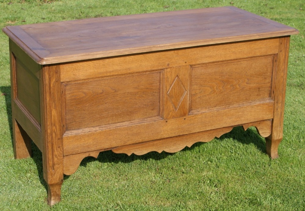 a stunning antique french oak louis style trunk box chest coffer