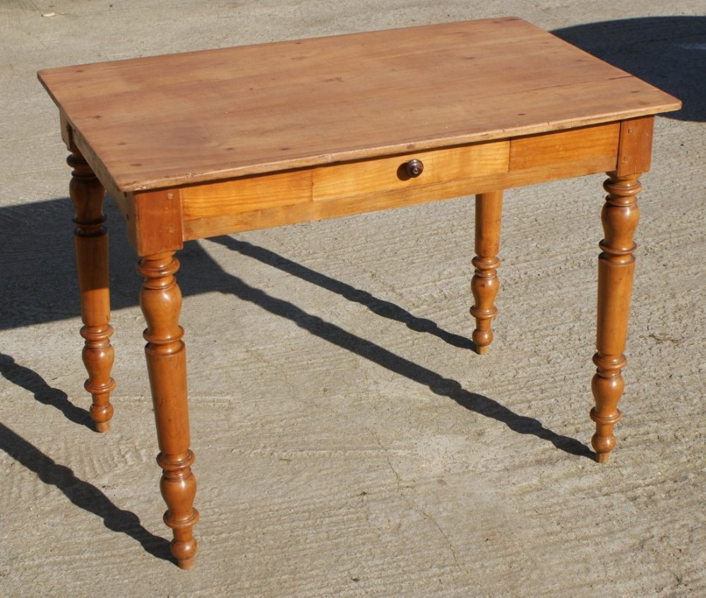 a very pretty french louis philippe cherry side table
