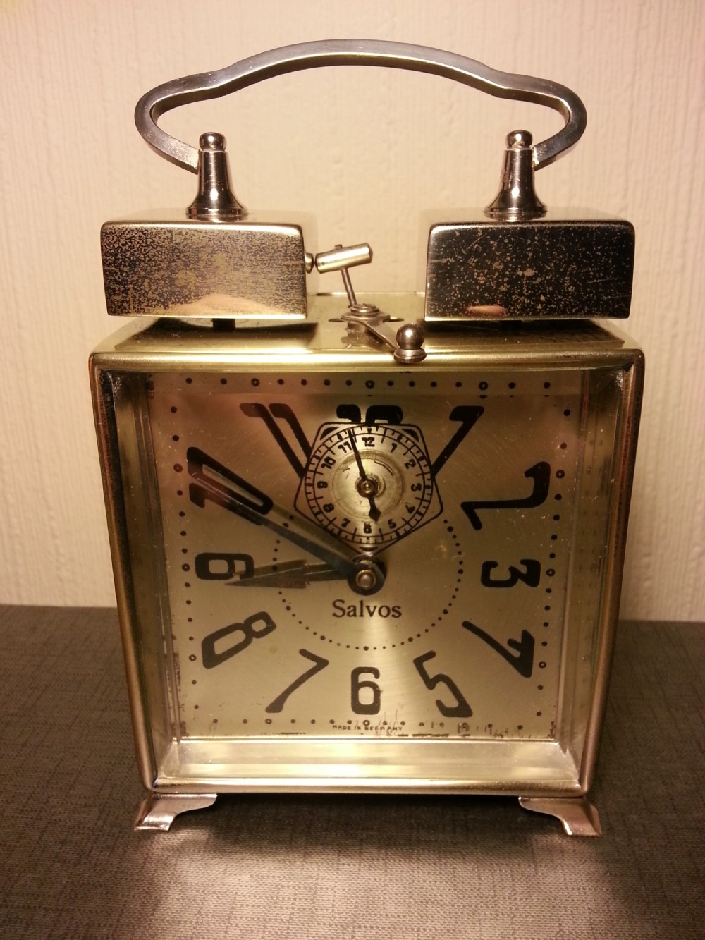 Art deco salvos alarm clock 249568 Art deco alarm clocks
