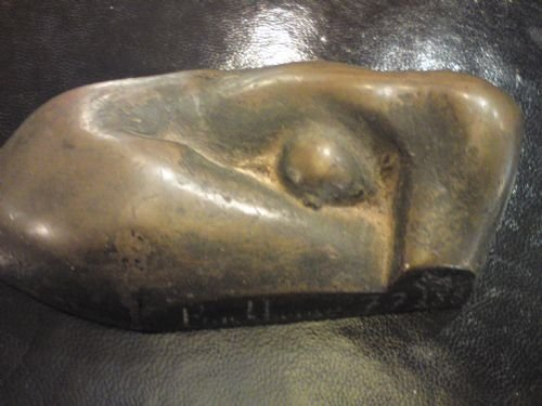 bronze of nude by david backhouse