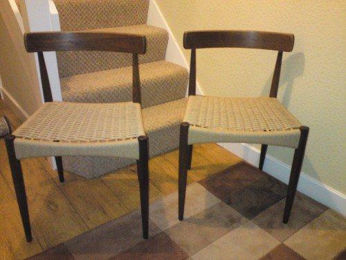pair a hovmandolsen chairs