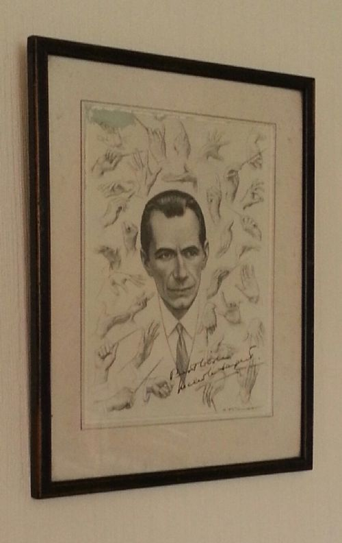 sir malcolm sargent signed print