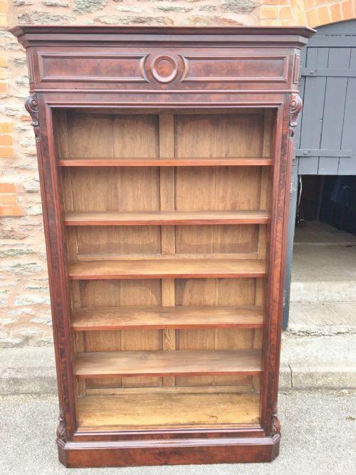 mahogany bookcase c 1880