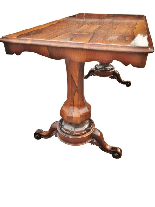 rosewood table english c 1850