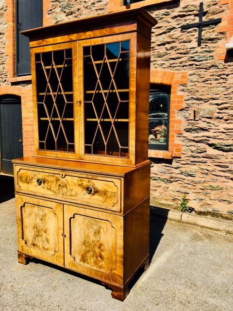 secetaire bookcase georgian mahogany c 1800