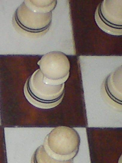 ivory chess set - photo angle #3